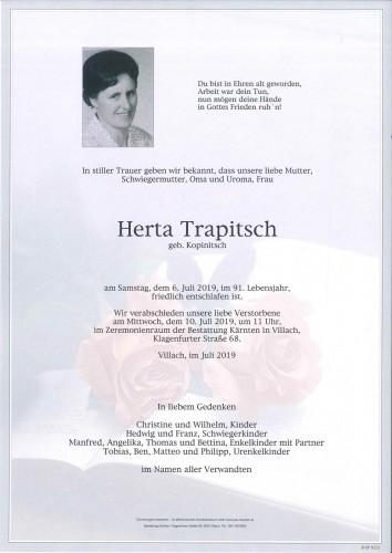 Herta Trapitsch