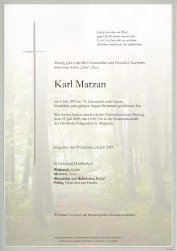 Karl Matzan