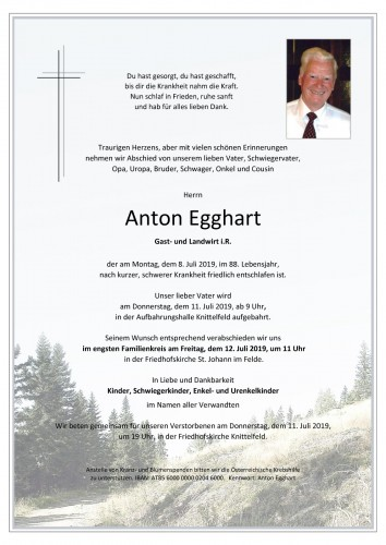 Anton Egghart