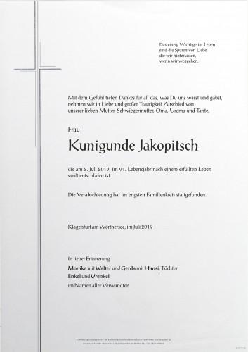 Kunigunde Jakopitsch
