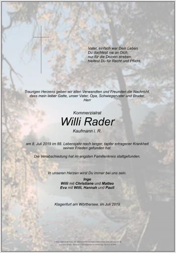 Willi Rader