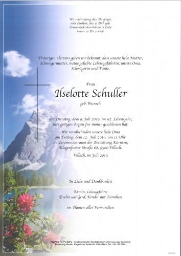 Ilselotte Schuller