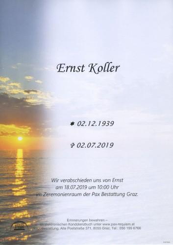 Ernst Koller