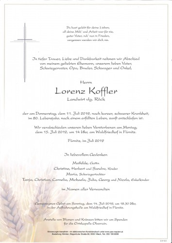 Lorenz Koffler