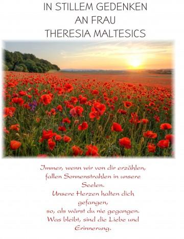 Theresia Maltesics geb. Schelander