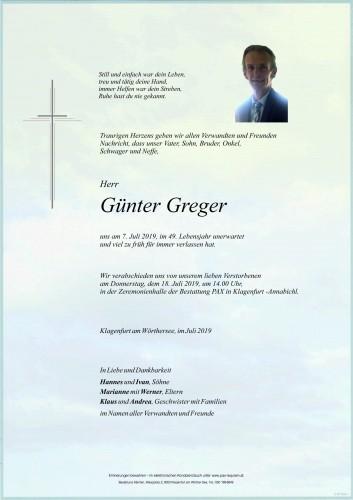 Günter Greger