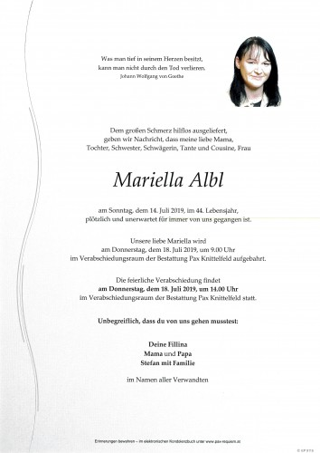 Mariella Albl
