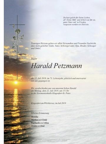Harald Petzmann