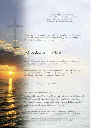 Nikolaus Lafler