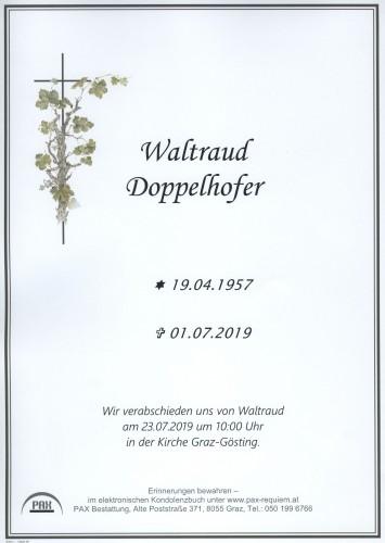 Waltraud Doppelhofer