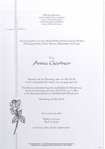 Franziska Anna Gartner