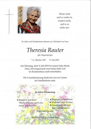 Theresia Rauter