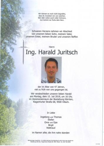 Ing. Harald Juritsch