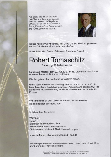 Robert Tomaschitz