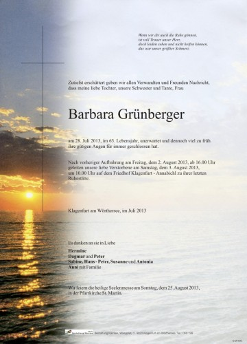 Barbara Grünberger
