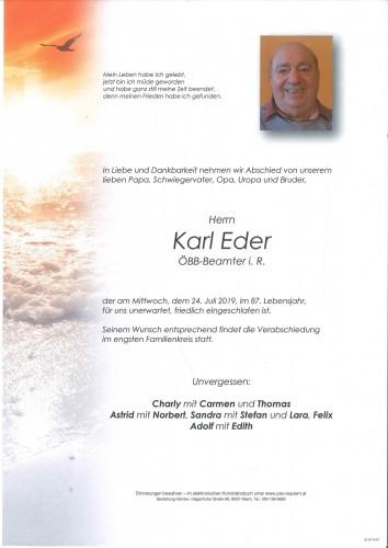 Karl Eder
