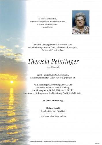 Theresia Peintinger