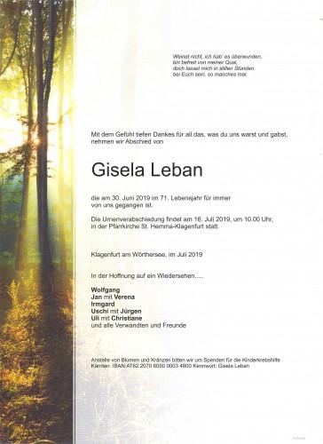 Gisela Leban