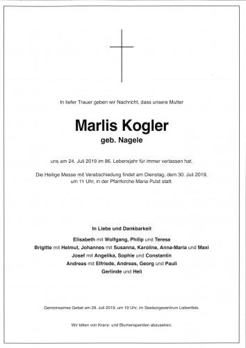 Maria Elisabeth Kogler