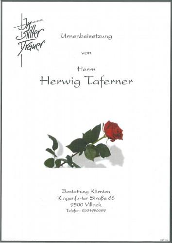 Herwig Taferner