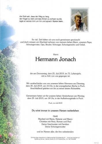 Hermann Jonach