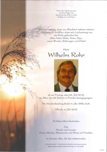 Wilhelm Rohr