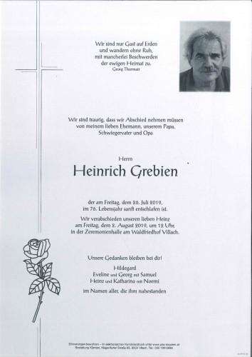 Heinrich Grebien
