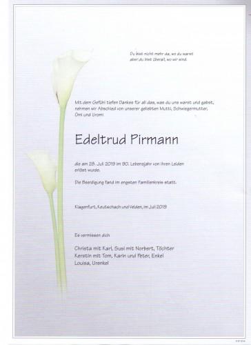 Edeltrud Pirmann