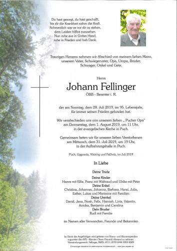 Johann Fellinger