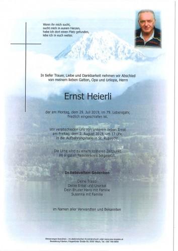 Ernst Heierli