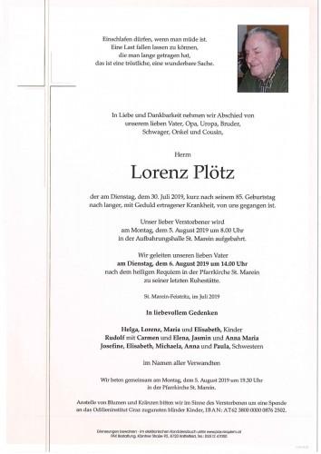 Lorenz Plötz