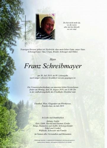 Franz Schreibmayer