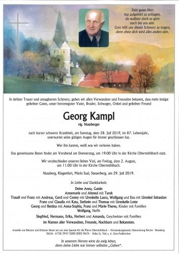 Georg Kampl  vlg. Nussberger