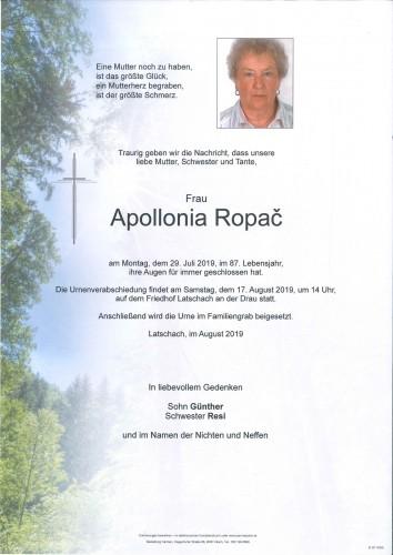 Apollonia Ropač
