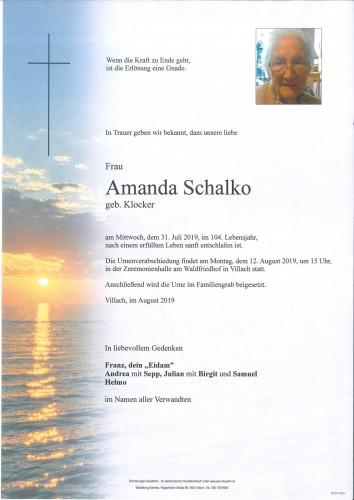 Amanda Schalko