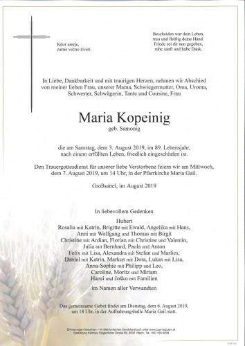 Maria Kopeinig