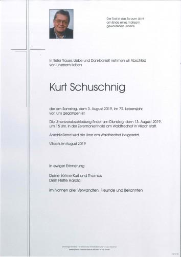 Kurt Schuschnig