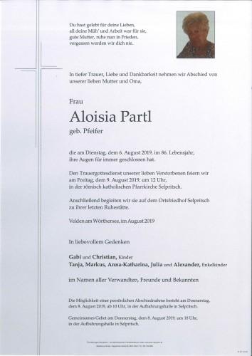 Aloisia Partl