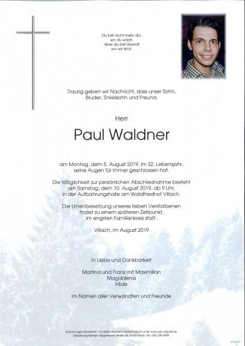 Paul Waldner