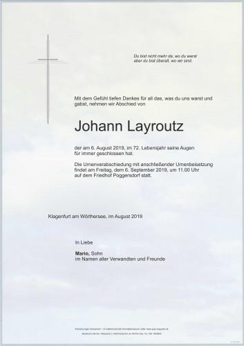 Johann Layroutz