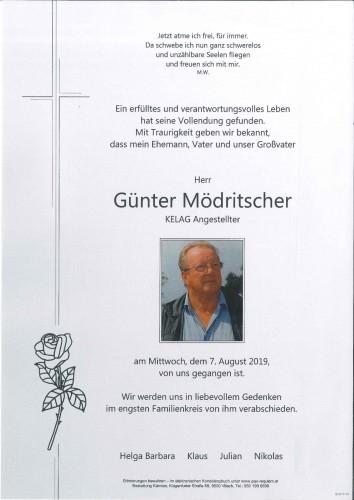 Günter Mödritscher