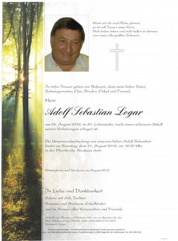 Adolf Sebastian Logar