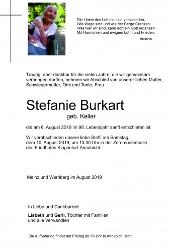 Stefanie Burkart