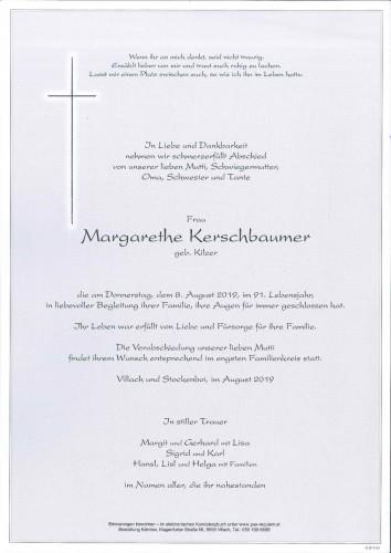 Margarethe Kerschbaumer