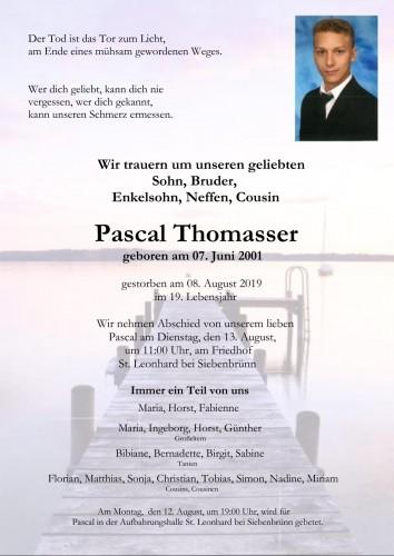 Pascal Thomasser