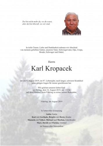 Karl Kropacek