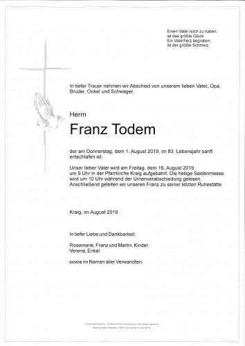 Franz Todem