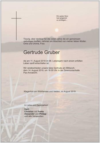 Gertrude Gruber