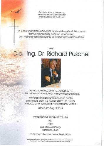 Dipl. Ing. Dr. Richard Püschel