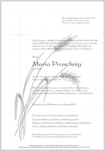 Maria Praschnig